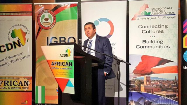 Morocco Guest of Honor at the African Cultural Dinner in Australia