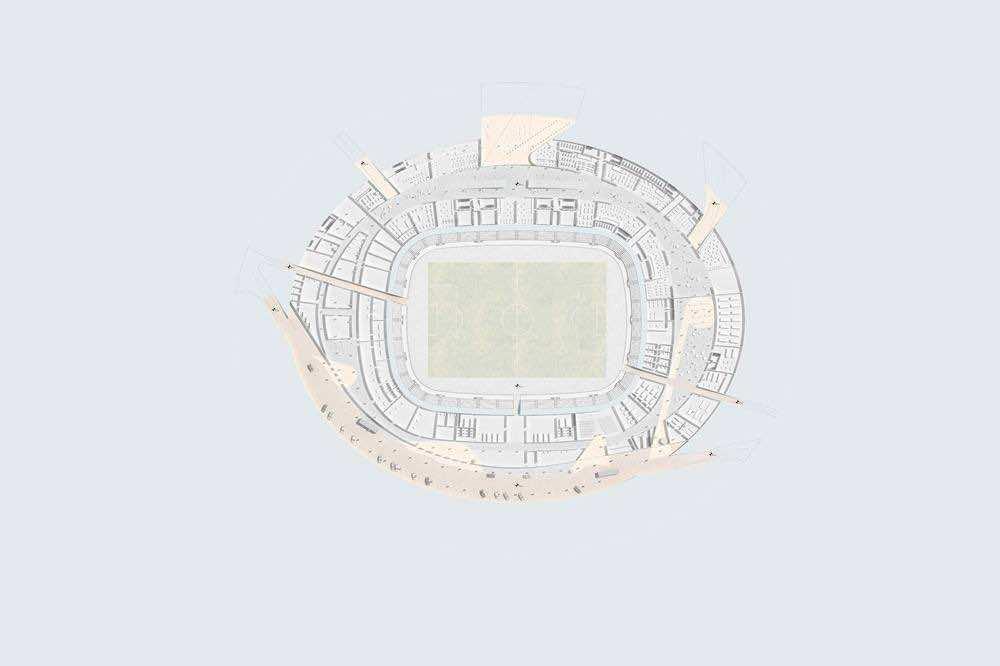 Oujda's new stadium
