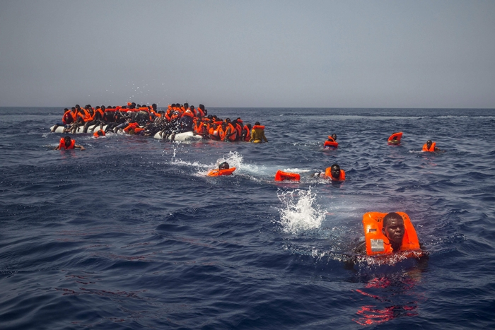 Bodies of 20 people pulled from the Mediterranean