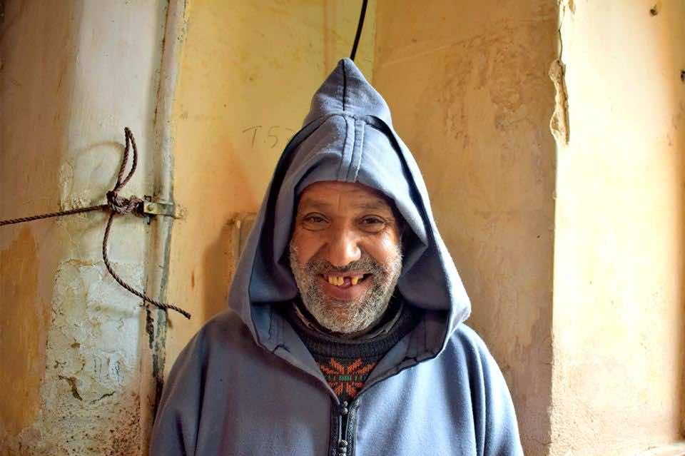 Stranger in traditional wear.Photo by ieva kambarovaite