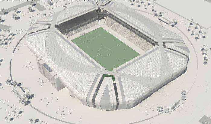 The future Al Hoceima's stadium