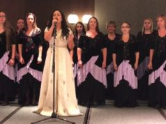 Video: Nabila Maan Performs Moroccan Anthem in Serbia