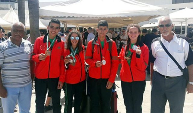 Moroccan Speedball Team Takes Home Silver, Two Bronzes at Tunisia Tournament