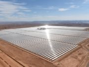 Aerial view of the solar plant of Ouarzazate, Morocco, Climate Change, Renewable energy, Morocco days