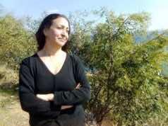 Amazigh female activist Malika Mazane