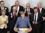 Angela Merkel's CDU Wins German Legislative Elections but Faces Challenge from Far-Right AFD , Germany