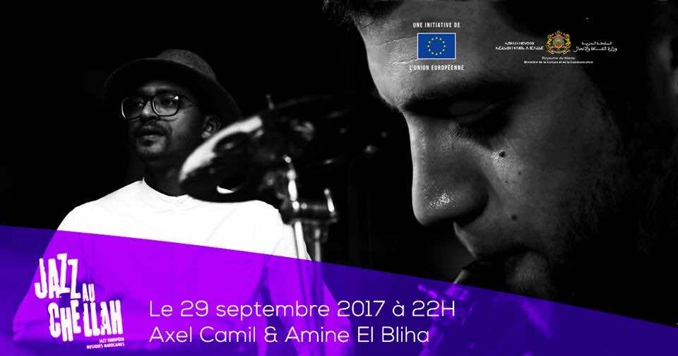 Axel Camil and Amine El Bliha, Challah Jazz fesival