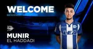 Barcelona Forward Munir El Haddadi Joins Alaves on Loan