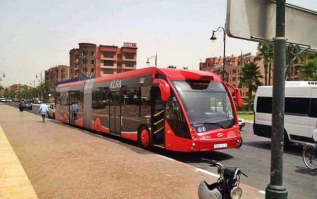 12 New Eco-Friendly Buses to Hit Marrakech' Streets September 28, Climate change, Green energy, Green buses, Morocco, Green business