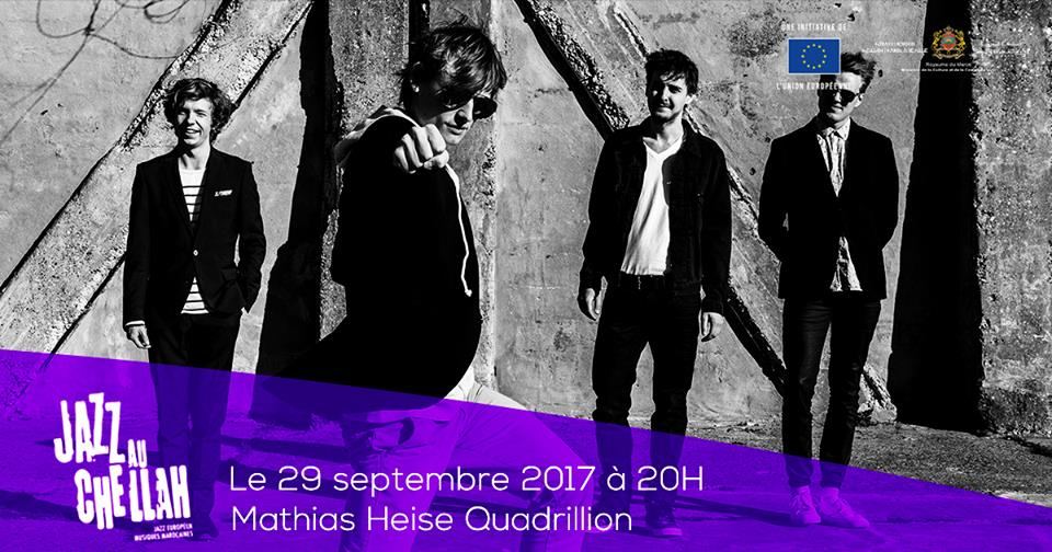Danish band Mathias Heise Quadrillon, Challah Jazz festival