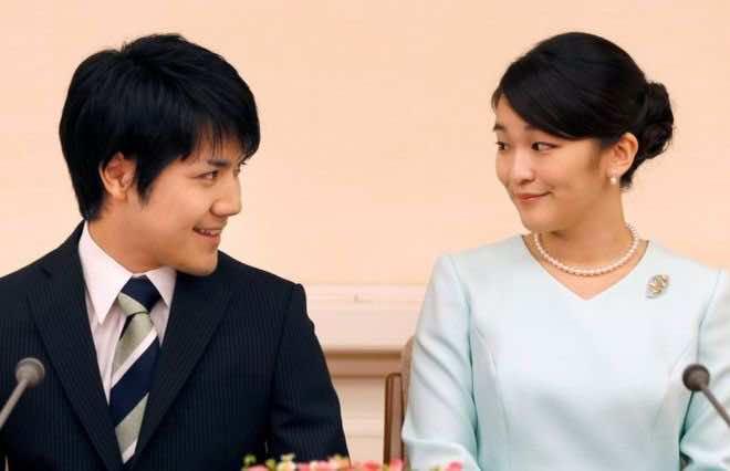 Japanese princess sacrifices Royal status for the Love of