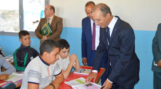 Mohammed Hassad, Morocco's Minister of education