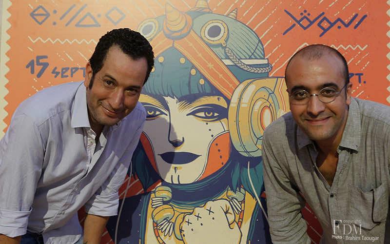 Momo & Hicham, L'Boulevard festival founders