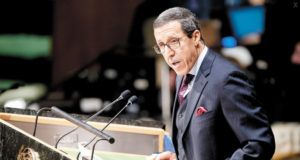 Morocco's Ambassador to the United Nations, Omar Hilale