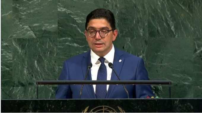 Nasser Bourita UN speech