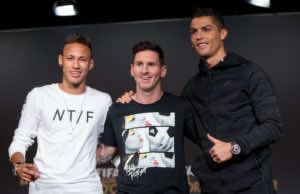 FIFA Nominates Ronaldo, Neymar, Messi as Finalists for Best Men's Player Award