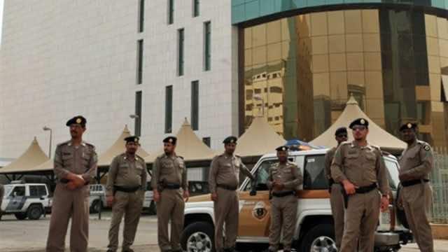 Police in Saudi Arabia