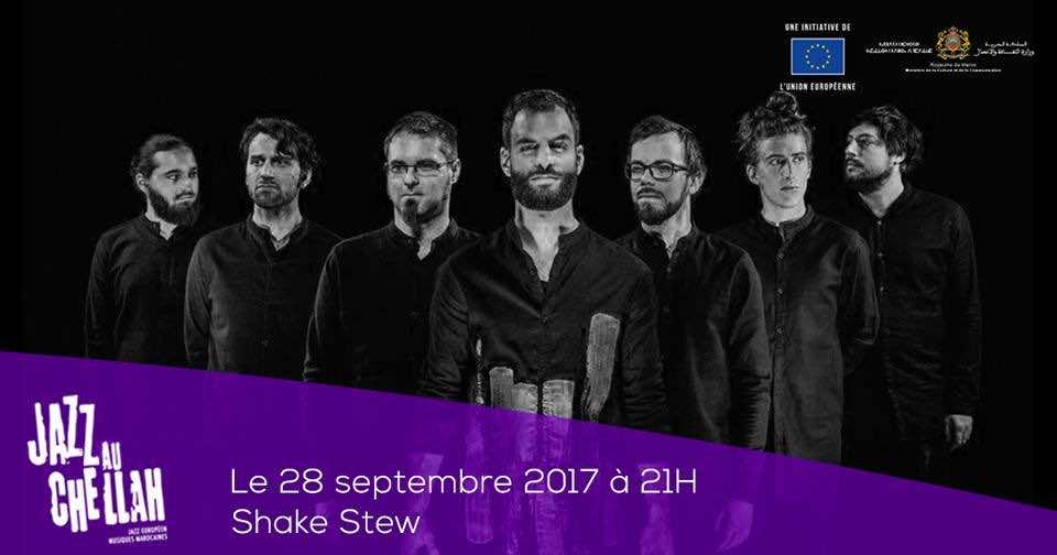 Shake Stew band, Challah Jazz festival