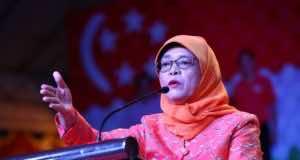 Singapore Names Halimah Yacob First Woman Muslim President