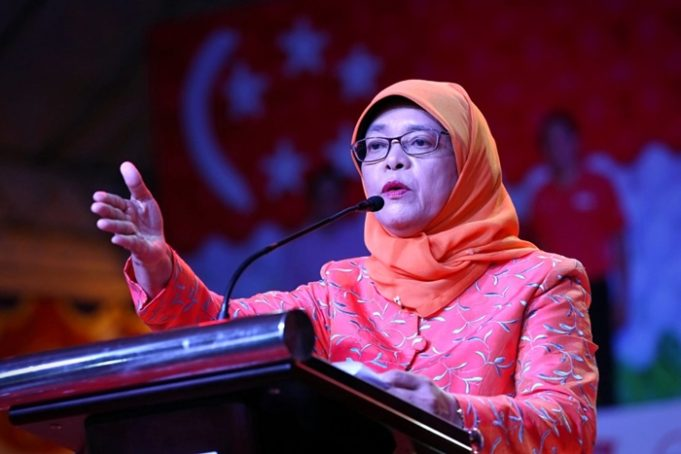 Singapore Names Halimah Yacob First Woman Muslim President