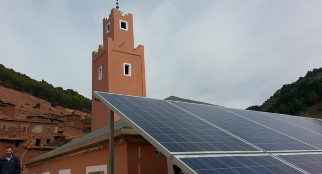 Solar-powered mosque