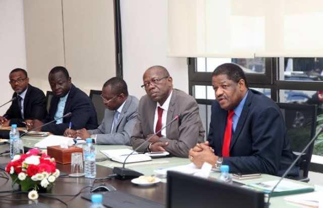 The President of the ECOWAS Commission, Marcel Alain De Souza