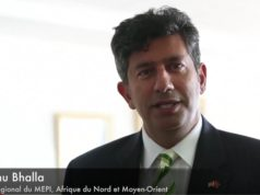 The Regional Director of MEPI, Manu Bhalla