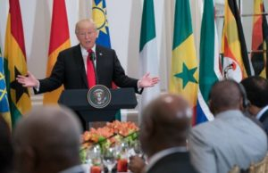 Trump Praises Nonexistent African Country, 'Nambia'