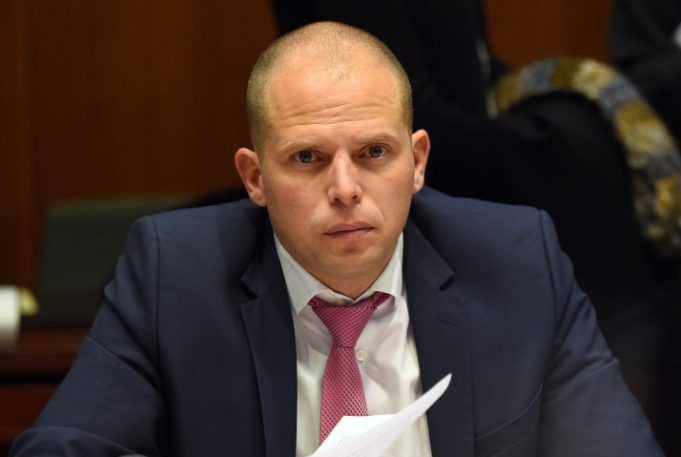 The Belgian Secretary of State for Migration Theo Francken