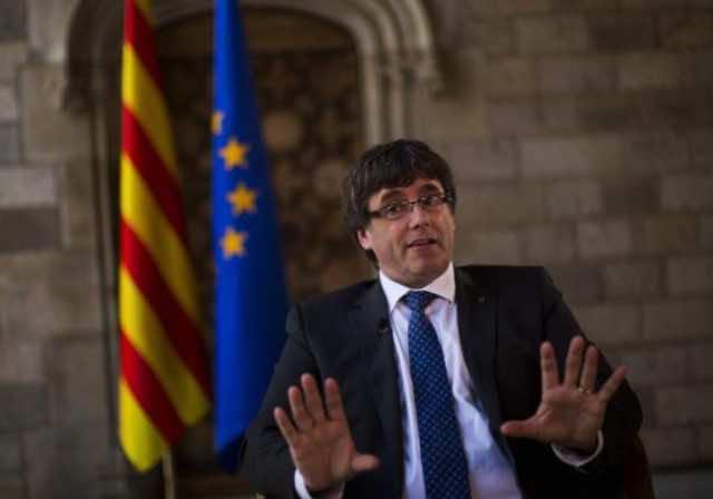 Catalonia's PM Carles Puigdemont