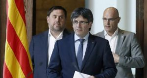 Charged with 'Rebellion,' Ousted Catalonia Leader, Carles Puigdemont, Flees to Belgium