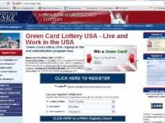 Electronic Diversity Visa Lottery Down