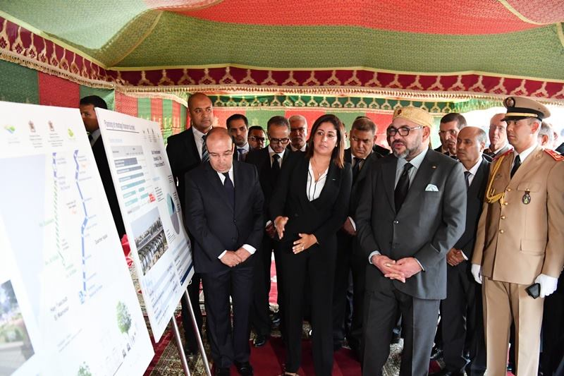 Facing Growing Transportation Demand, King Mohammed Launches Rabat-Salé Tramway Extension Project