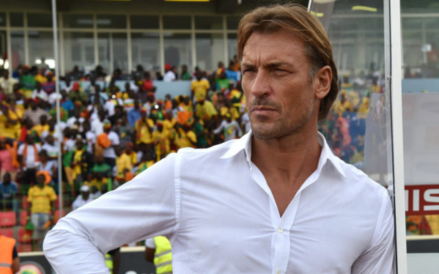 Herve Renard, the coach of Morocco's national football team