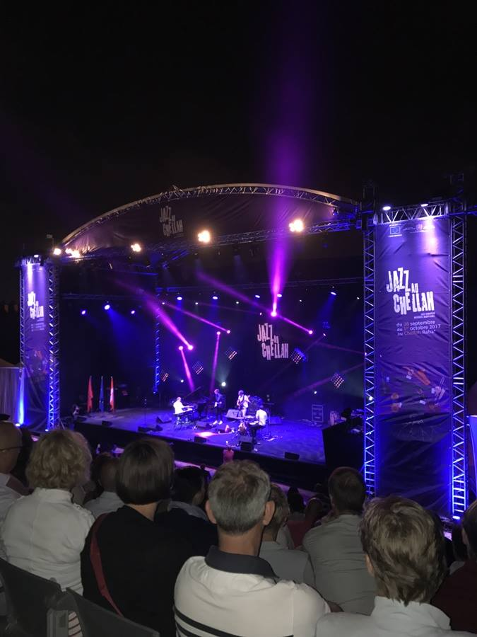 Luxembourg in Chellah Jazz Festival with the Trio ''Dock In Absolute''