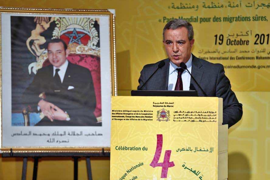 Minister of Justice Mohamed Aujjar