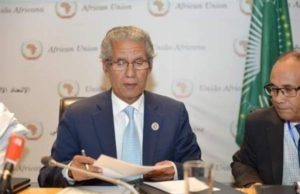 Mohamed Salem Ould Salek, the minister of foreign affairs of the separatist front