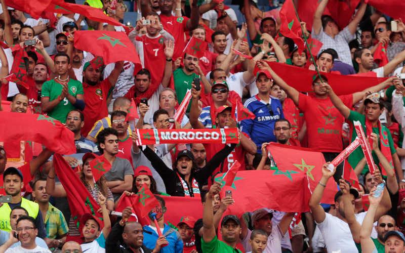 Moroccans fans