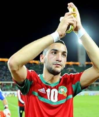 Chelsea Shows Interest in Morocco's Hakim Ziyech