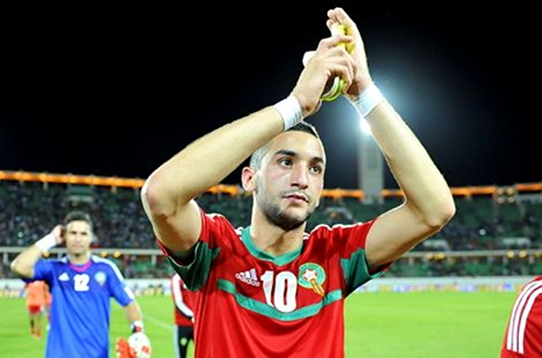 Image result for hakim ziyech morocco