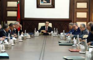 Morocco's Government headed by Saad Eddine El Othmani.