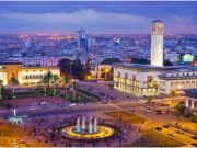 Place Mohammed V in central Casablanca