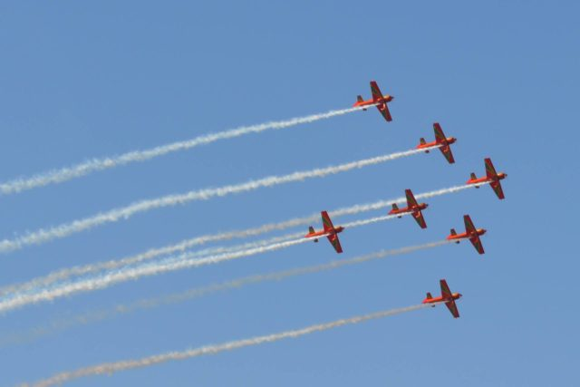 Royal Air Force Aerobatic Display Teams Celebrate Royal Air Maroc's 60 Anniversary with Air Show