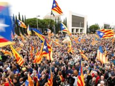 Catalonia, Spain, Barcelona Protest, Catalan Independence