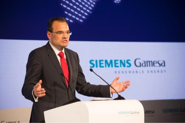 Markus Tacke, Siemens Gamesa CEO