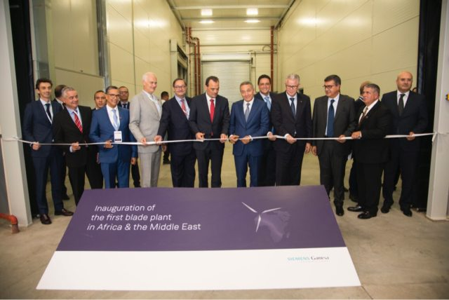 Siemens Gamesa Opens EUR 100 Million Wind Turbine Plant in Tangier