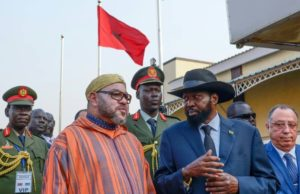 South Sudan, Western Sahara, King Mohammed IV, Salva Kiir, Polisario, Algeria, Morocco