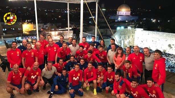 Spanish Football Team Receives Backlash for Visiting Jerusalem's Western Wall