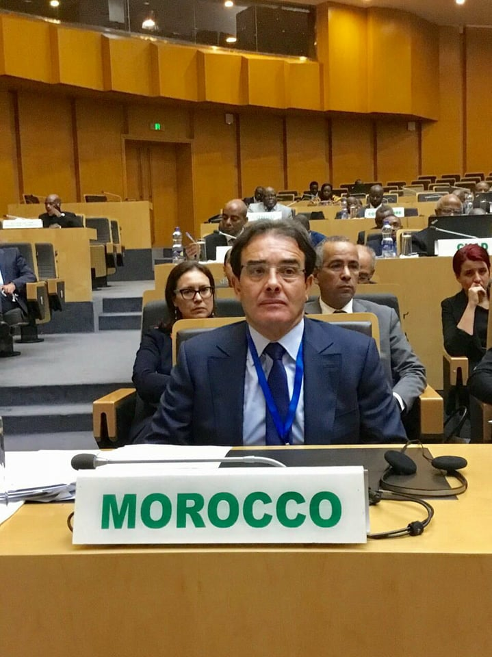 The Moroccan Minister Delegate to the Minister of Foreign Foreign Affairs, Abdelkrim Benatiq