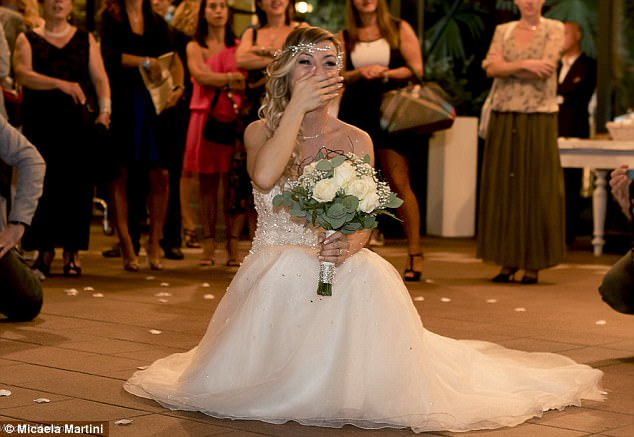 MADNESS!!! Meet Woman That Married Herself After Tired Of
